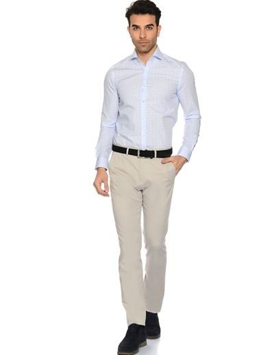 Cotton Bar Pantolon Taş